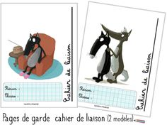 Pages de garde Maternelle le Loup - Validées