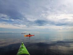 Canada , St-Laurence river, Les Escoumins kayaking #PleinAirEnVR