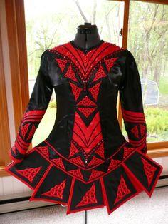 Parker - Irish Dance Solo Dress Costume by IDentify You
