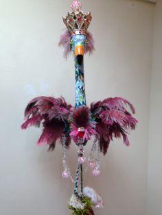 Funky flamingo - people's choice winner close-up