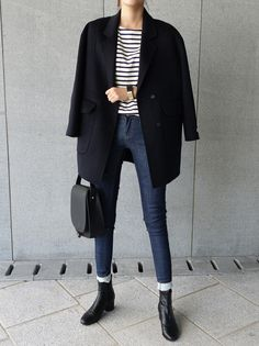 20 Elegant Fall Outfits for Work - Outfit Mich - Mode Outfits, Fashion Outfits, Womens Fashion, Fashion Mode, Denim Fashion, Curvy Fashion, Fashion Trends, Dress Fashion, Fashion Boots