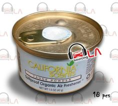 Sourcing-LA: California Scents Tahoe Powder Air Freshener Box o...