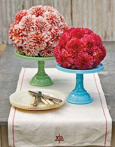 flower ball centerpieces