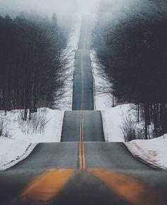 Roller Coaster Road.