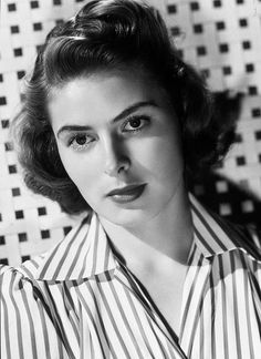 Ingrid Bergman, Academy Award winner (Best Actress in 1944 and 1956, Best Supporting Actress in 1974). Nominated in 1943, 1945, 1948, and 1978