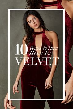 How To Turn Heads This Holiday Season: Velvet Pieces We Love | Necessary Clothing