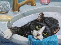 """Am I Done?"" - Original Fine Art for Sale - © Joy Campbell"