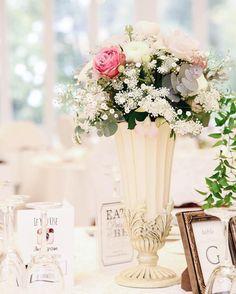 実は、一番の悩みどころ!テーブル装花のコーディネート10選♡ | marry[マリー]