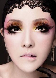 Beijing opera make-up