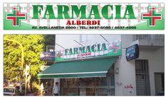 Carteleria - Farmacia Alberdi