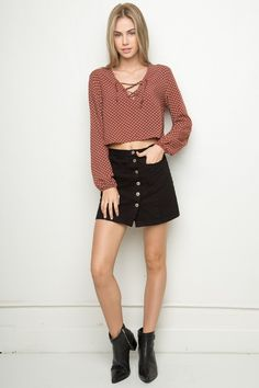 Brandy ♥ Melville | Millie Top - Tops - Clothing