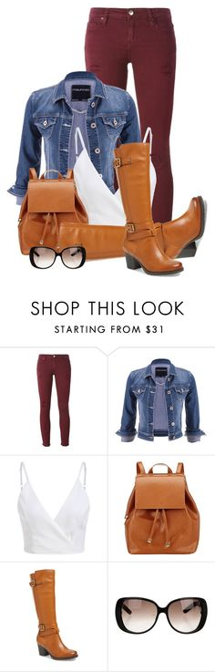 """""""Cognac"""" by seahag2903 ❤ liked on Polyvore featuring IRO, maurices, Barneys New York, Naturalizer and Gucci"""