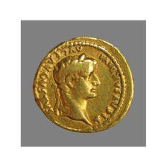 Aureus (gold) from Emperor Tiberius (14 AD - 37 AD)