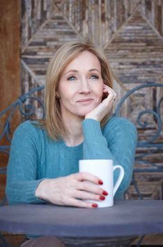 JK Rowling, the first person to lose the billionaire status because of donating so much to charity.