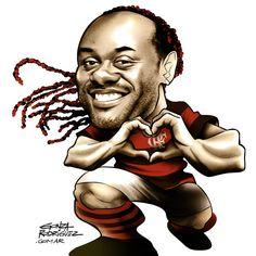 Vagner Love / Flamengo magazine / Brasil