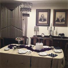 Brewin  Hm Ballroom  Pipe Organ  Living Room  Dining Room Inspiration Haunted Mansion Dining Room Design Ideas