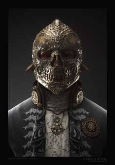 ArtStation - Burned Lord, Carlos Vidal