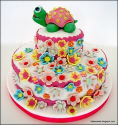 Turtle Cake by Vadecakes