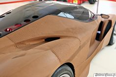 Ferrari LaFerrari clay model 003
