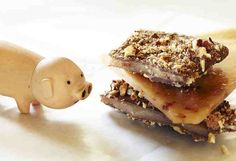 HOG HEAVEN Bacon Toffee by chocolatefx on Etsy, $15.00