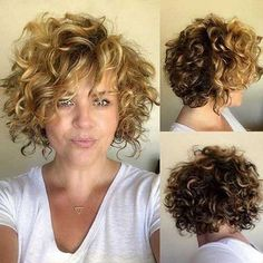 20 short curly cuts for stylish women Short Curly Hairstyles, . - 20 short curly cuts for stylish women Short curly hairstyles, - Short Curly Cuts, Haircuts For Curly Hair, Curly Hair Cuts, Short Bob Hairstyles, Wavy Hair, Hairstyles 2018, Updo Curly, Bangs Updo, Long Curly