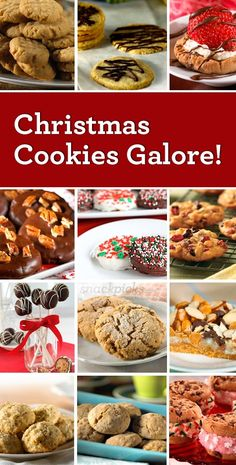 Christmas Cookies ~ Recipes for a Holiday Cookie Exchange