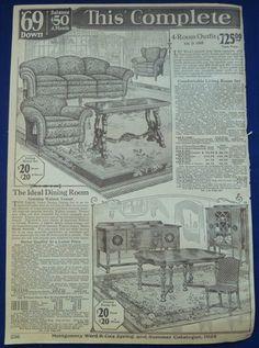 1920's furniture ad...