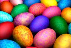 Cioccolato con le uova di pasqua