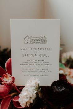 Kate and Steven's Cloughjordan House Wedding in Winter   One Fab Day   OneFabDay.com Ireland