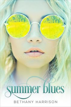 Premade romance ebook cover design - Summer Blues