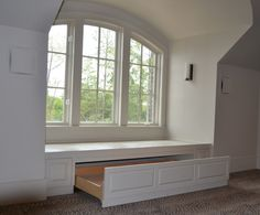 Window Bench Seat Ideas diy wooden window bench seat with storage, here is a great do it