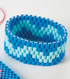 Perler Blue Bracelet : Seasonal Projects: Spring & Summer :  Shop | Joann.com