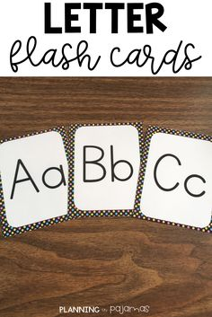 Letter Flash Cards - Word Wall - Black and Bright Polka Dots Kindergarten Flash Cards, Kindergarten Learning, Kindergarten Centers, Polka Dot Theme, Polka Dots, Letter Flashcards, Word Wall Headers, Letter Formation, Letter Activities