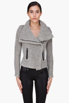 MARC BY MARC JACOBS //  GREY SVETLANA JACKET