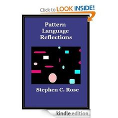 $2.99 Pattern Language Reflections is a small selection of highly opinionated blog pieces on the shape and character of human settlements. It touches on planning, urbanization, design, pattern language, Christopher Alexander, Jane Jacobs, future, metrosprawl, Haiti, cars, transportation, housing, investment, environment, green and the conditions for economic growth. It states premises for a world of car-free communities.