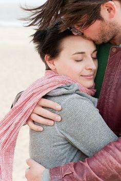woman romantic Love hug