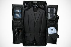 This rolling garment bag by jos. a bank is a must have for any man. Men Store, Garment Bags, Sharp Dressed Man, Fashion Images, Mens Suits, Men Dress, Gentleman, Menswear, Man Shop
