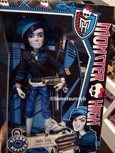 Invis Billy Invisibilly Monster High doll Scare Mester New York Toy Fair 2014