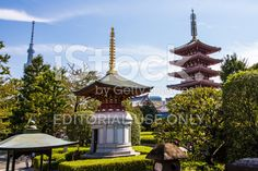 #pagoda #SensoJi #temple #Tokyo #Japan #religion #shrine