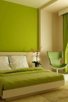 Discover green bedroom decor tips for 2019 bedroom Latest Bedroom Design, Green Bedroom Design, Green Bedroom Decor, Fancy Bedroom, Best Bedroom Colors, Simple Bedroom Decor, Modern Master Bedroom, Shabby Chic Bedrooms, Master Bedroom Design