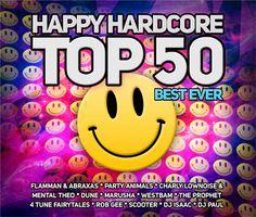 'Happy Hardcore Top 50' zet alle happy hardcore hits nog eens voor je op rij. Een perfect gebalanceerde mix op twee CD's van de grootste hit...