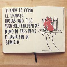 El amor es como el trabajo... (Alfonso Casas)