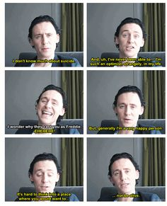 Tom Hiddleston... but, generally i'm a very happy person http://pinterest.com/yankeelisa/marvel-s-the-avengers-4/