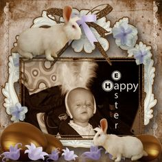 Painted Easter [YT-74] - $2.49 : e-scapeandscrap.net