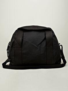 SILENT By Damir Doma Men's Berio Weekend Bag in black at oki-ni