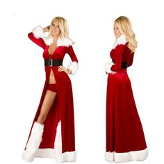 2016 christmas women sleepwear sexy lingerie female siling dress patchwork chemise nightwear hot sale erotic lingerie babydolls ** Details can be found by clicking on the image.