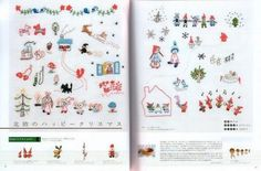 SCANDINAVIAN EMBROIDERY DESIGNS Japanese Craft Book by pomadour24