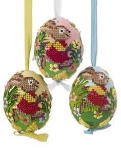 mouth blown and hand stitched eggs for sale