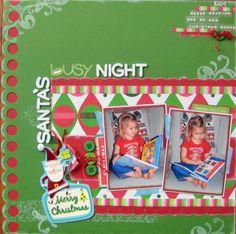 Missy Whidden's Gallery: Santa's Busy Night