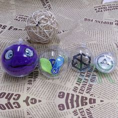 Christmas Tree Decorations Ball Transparent Plastic Xmas Bauble Ornament Gift Box Holder